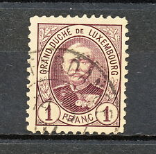 NNAL 210  LUXEMBOURG 1893 USED  PERF  11 1/2 X 11
