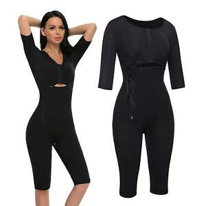 Women Full Body Shaper Post Surgery Seamless Fajas Compression Garment Corset UK