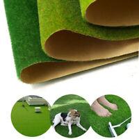 Artificial Grass Fake Lawn Synthetic Green Grass Floor Mat Turf Landscape Garden
