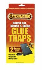 CATCHMASTER - Baited Rat, Mouse and Snake Glue Traps - 2 Pack
