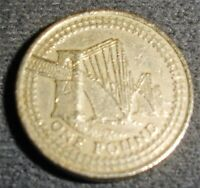 £1 COIN ~2004 ~A representation of the Forth Railway Bridge  ~ CIRCULATED