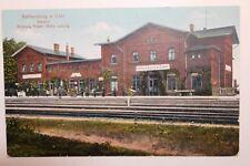 2046 AK Rothenburg Oder Bahnhof PC railway station 1917