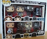 Star Wars Rogue One Funko Pop 8 pack Figures gift set Limited 3000  Disney NEW