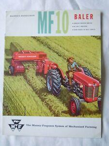@Massey Ferguson MF 10 Baler  Brochure@