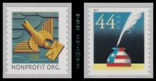 4495-96 4496 Art Deco Bird and Patriotic Quill Inkwell 2011 Set 2 MNH - Buy Now