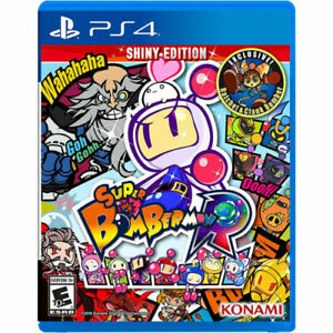 Super Bomberman R Shiny Edition (PS4) Brand New sealed ships NEXT DAY