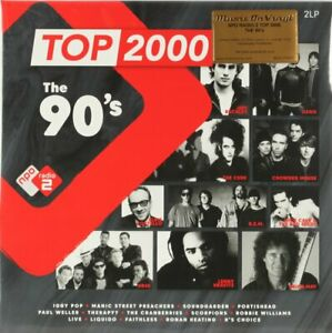 Various, Top 2000 - The 90's  Vinyl Record *NEW*