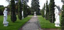 Vier Jahreszeiten aus Marmor, Gartenskulptur, Marmorstatue,Frauenstatue
