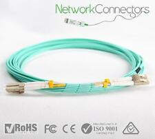 LC - LC OM4 Duplex Fibre Optic Cable (100M)