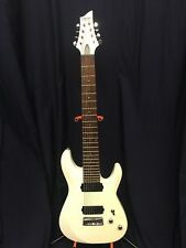 Schecter C-8 DELUXE Satin White 8-String Solid-Body Electric Guitar