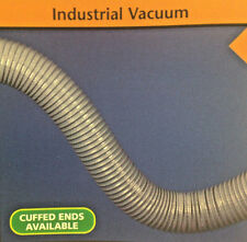 "1 3/4"" Super Vac-U-Flex Pvc Fiber Reinforced Grey Ducting/Hose, 50 Feet"