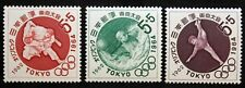 Timbres JAPON / JAPAN Stamp - Yvert et Tellier n°713 à 715 n** (Cyn27)