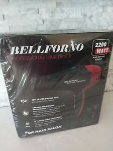 Bellforno Salon Hair dryer 2200 Ionic Red