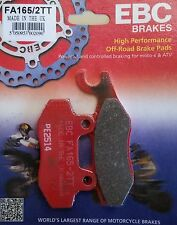 EBC/FA165/2TT Brake Pads (Rear) - Suzuki DR800SM DR-BIG '91, Yamaha XTZ750 S/Ten