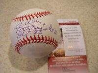 Juan Marichal San Francisco Giants, Dodgers, Red Sox signed HOF 83 MLB with JSA