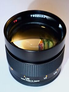 Contax Zeiss Planar T* 50mm f1.4 MMJ lens, modded for A-Mount, near-mint! [NR]