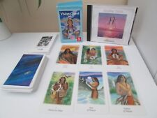 """""""VISION QUEST"""" Oracle cards with """"HEALING SPIRIT"""" Musical CD."""