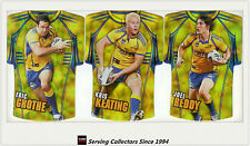2009 Select NRL Classic Holofoil Jersey Die Cut Card Team Set Eels (6)