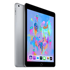 "TABLET APPLE Ipad 6 9,7"" 2018 Wi-Fi/wireless LAN+Celular 128 GB GRIS NEGRO"