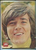 16 Magazine Sept 1969 Bobby Sherman Doors Tommy James & The Shondells  MBX89
