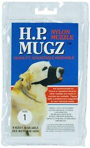 Hamilton H.P. Mugz Adjustable Quick Fit Soft Dog Muzzle, size 1