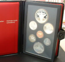 CANADA  1982   PROOF DOUBLE DOLLAR SET  ***7 COINS***