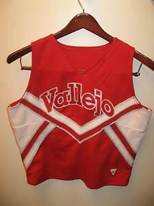 Cheerleader Uniform - Vallejo California High School Varsity Disco Shirt USA Lrg