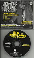 B.G. Move Around INSTRUMENTAL & ACAPELLA PROMO DJ CD single bg