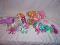 Assorted My Little Pony Figures