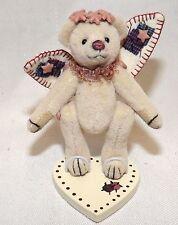 Gund Barton's Creek Miniature Angel Bear Faith by Kelli Kilby New In Case
