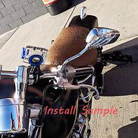 Skull Hand Motorcycle Mirrors For Suzuki Intruder 1500 1400 Marauder 800 1600