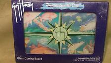 Various fish by Guy Harvey Tempered Glass Cutting Board BRAND NEW