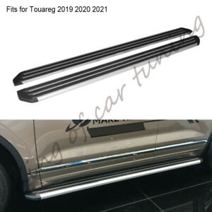 Fits for Volkswagen Touareg 2019 2020 running board side step protect stair 2PCS