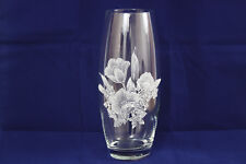 """Rayware Occasions Blown Glass Oval Vase 10"""" (25.5cm)"""