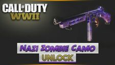 Call of Duty WWII PS4 DLC CODE ONLY Zombies Camo (Game Pack) NOT FULL GAME