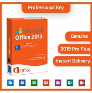 ✔️🔥MS®Office PRO 2019 PLUS 32/64 BIT ✅LICENSE KEY ✅✔️Micro soft🔥✔️