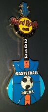 HARD ROCK CAFE HRC 2012 ATLANTA BASKETBALL ROCKS SOCCER FIELD GUITAR PIN /LE