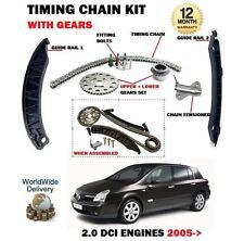 Für Renault Vel Satis 2.0 Dci 150bhp 173b 2005- > Zeit Steuerkette Set