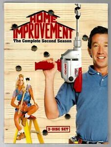Home Improvement - The Complete Second Season (DVD, 3-Disc Set)~BRAND NEW&SEALED