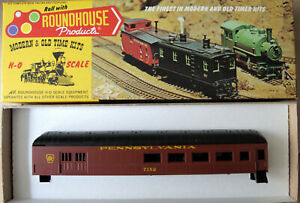 HO Roundhouse Pennsylvania (PRR) 60' Harriman Combination Passenger Car Kit