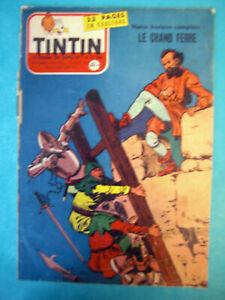 TINTIN Nos 452 DU 20 JUIN1957