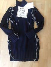 Maison Martin Margiela Long Pullover Sweater Wool Dress Kleid Merinowolle S / M