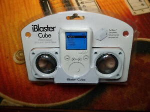iBlaster Cube Portable Sound System Excalibur Electronics  Factory Sealed