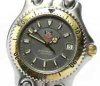 TAG HEUER S/el WG1120-K0 Date gray Dial Quartz Men's Watch_562272