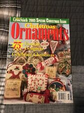 2005 Just Cross Stitch Special Christmas Issue Ornaments 75 Different