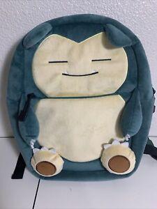 Nontendo Snorlax Pokémon Small Backpack
