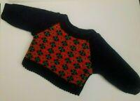 American Girl Molly Doll Argyle Original Sweater Pleasant Company Tag Vintage