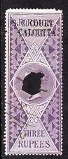 1866/68 India Bft:10 3R. LILLA. piccola causa Corte Calcutta ricavi.