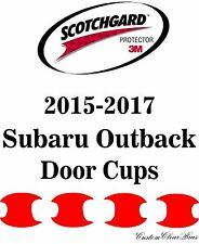3M Scotchgard Paint Protection Film Pre-Cut Fits 2015 2016 2017 Subaru Outback