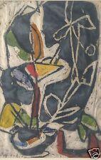 2v3:Expressiver Realismus Stillleben Monotypie Gemälde Blumen Lotte Wolf-Koch~50
